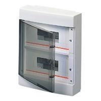 Gewiss GW40047 - Centralino da Parete 24 moduli porta trasparente IP40