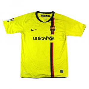 2008-10 Barcelona Maglia Away XL.Ragazzo #10 Scibo