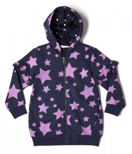 Felpa con stelle