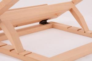 Leggio da tavolo in legno naturale 32 x 22 cm