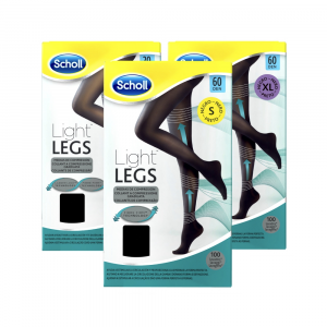 SCHOLL LIGHTLEGS - COLLANT A COMPRESSIONE GRADUATA 60 DENARI