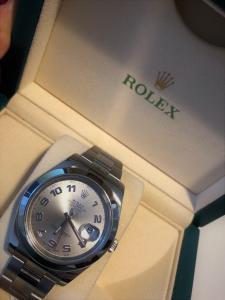 Orologio secondo polso Rolex Datejust II