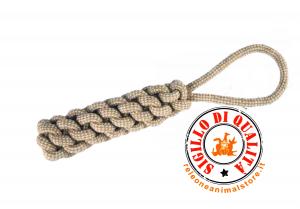 Gioco Cane in corda salsicciotto 24 cm Imac