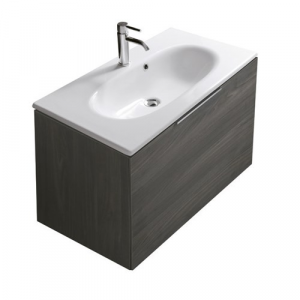 Mobile da bagno con lavabo Ergo Galassia Cm 85 x 45