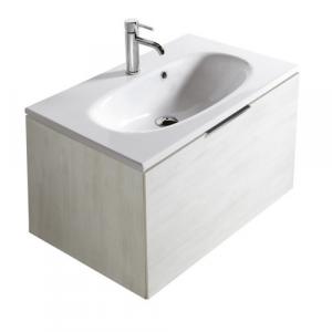 Mobile da bagno con lavabo Ergo Galassia Cm 75 x 45