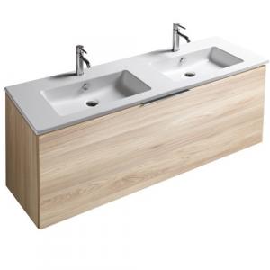Mobile da bagno con lavabo Eden Galassia Cm 140 x 45