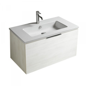 Mobile da bagno con lavabo Eden Galassia Cm 80 x 45