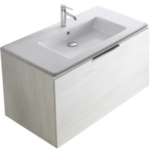 Mobile con lavabo cm 105 x 50 Plus design Galassia