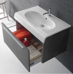 Mobile da bagno con lavabo cm 80 x 50 Bowl+ Globo