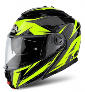 CASCO MOTO AIROH MODULARE PHANTOM S 2018 EVOLVE YELLOW GLOSS PHSEV31