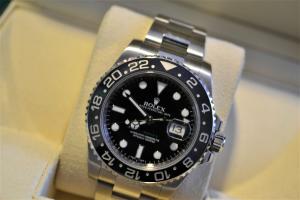 Orologio secondo polso Rolex Gmt Master II