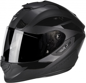 CASCO MOTO INTEGRALE SCORPION EXO-1400 AIR FREEWAY MATT BLACK – BLACK