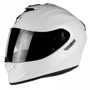 CASCO MOTO INTEGRALE SCORPION EXO-1400 AIR SOLID PEARL WHITE