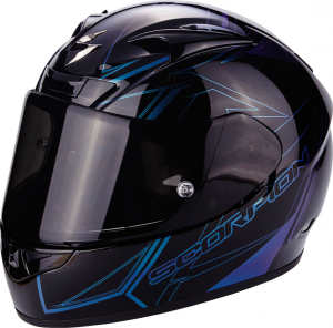CASCO MOTO INTEGRALE SCORPION EXO-710 AIR LINE BLACK CHAMELEON