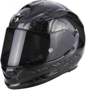 CASCO MOTO INTEGRALE SCORPION EXO-510 AIR ARABESC BLACK