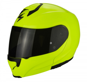 CASCO MOTO MODULARE SCORPION EXO-3000 AIR SOLID NEON YELLOW