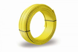 Tubo multistrato per gas GF ALUPEX giallo corrugato 16 x 2,25 ( PREZZO AL METRO)