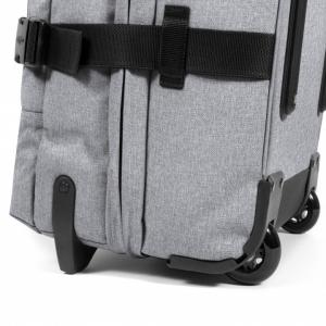 EASTPAK - Tranverz - Trolley grande 2 ruote TSA morbido grigio cod. EK63L_363