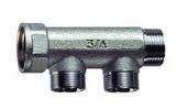 Collettore M-F cromato INT. 36 mm FAR 2 VIE 3/4''