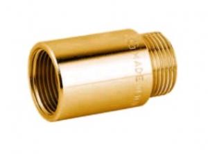 Prolunga ottone giallo pesante 1''-1 cm--2 cm--3 cm--4 cm--5 cm