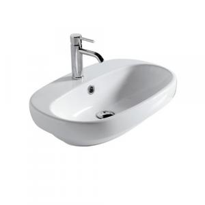 Lavabo appoggio per il bagno Ergo Galassia cm 60 x 42
