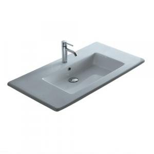 Lavabo per il bagno da incasso/soprapiano Plus Galassia cm 106 x 51