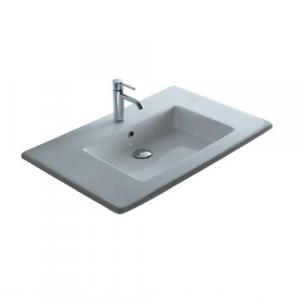 Lavabo per il bagno da incasso/soprapiano Plus Galassia cm 96 x 51