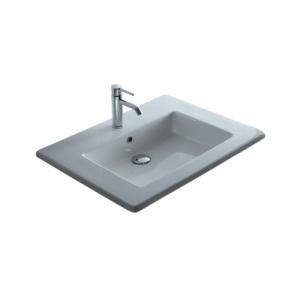 Lavabo per il bagno da incasso/soprapiano Plus Galassia cm 86 x 51