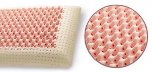 Coppia cuscini memory modello saponetta alti 12cm ideali - Cuscini letto per cervicale ...
