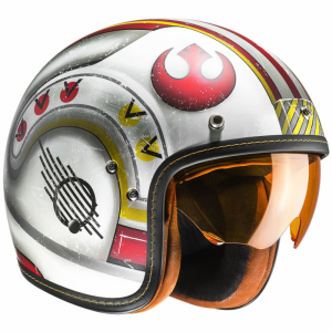 Casco jet HJC FG 70s Star Wars X-WING FIGHTER PILOT MC1F in fibra