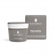 NATURE'S HEMATITE  crema viso antiage e dopobarba