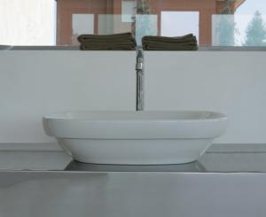Lavabo appoggio per il bagno cm 60 x 40 Genesis Globo