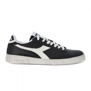 Scarpa Diadora Game L Low Waxed - Nero Bianco 2bfdeb87e50