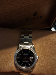 Orologio secondo polso Rolex Oyster Perpetual Date