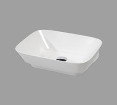 Lavabo appoggio per il bagno cm 50 x 45 Prua Azzurra