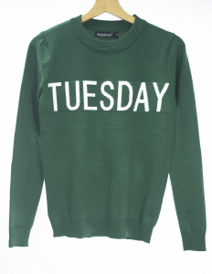 CRISANNE by StockeBeauty.it- MAGLIONE WEEK TUESDAY