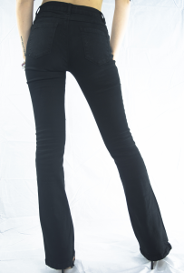 StockeBeauty.it- PANTALONE ZAMPA NERO