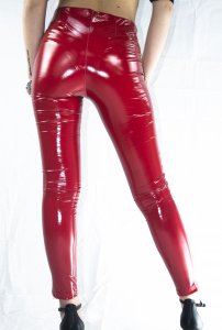 StockeBeauty.it- LEGGINS VINILE ROSSO