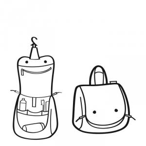 Reisenthel - Toiletbag S kids - Borsa da bagno multicolore cod. IO3055