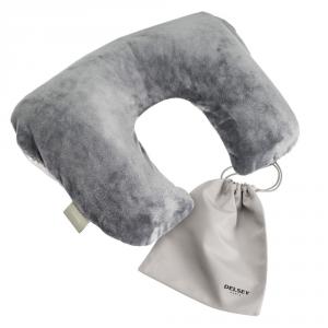 Delsey - Cuscino da viaggio ergonomico multifunzione grigio cod. 3904260