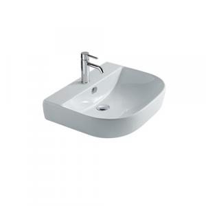Lavabo sospeso per il bagno cm 50 x 48 Eden Galassia