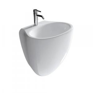 Lavabo sospeso per il bagno cm 55 x 45 Ergo Galassia