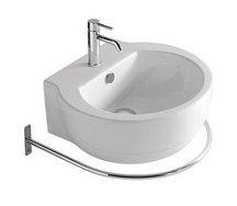 Lavabo sospeso per il bagno cm 50 x 45 El 1.2 Galassia
