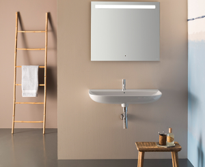 Lavabo sospeso per il bagno cm 80 x 50 Stockholm Globo