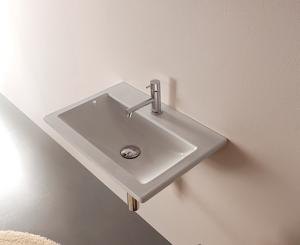 Lavabo sospeso per il bagno cm 55 x 37 Stockholm Globo