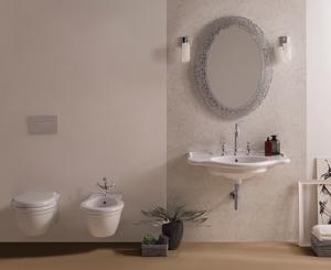 Lavabo sospeso per il bagno cm 90 x 56 Paestum Globo