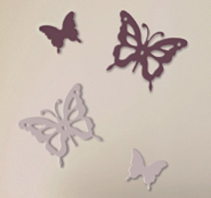 STICKERS 3D MARIPOSA