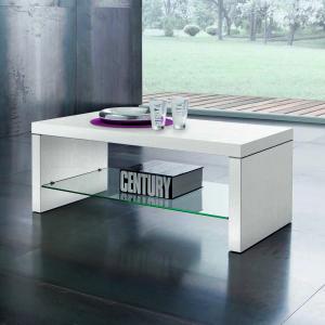 Tavolino Denver Bianco Frassino