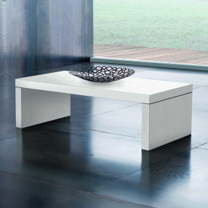 Tavolino Detroit Bianco Frassino