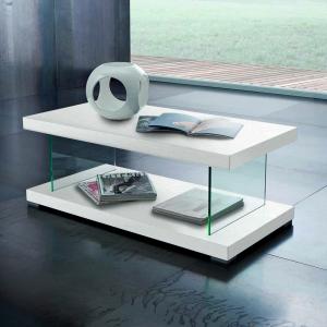 Tavolino Washington Bianco Frassino